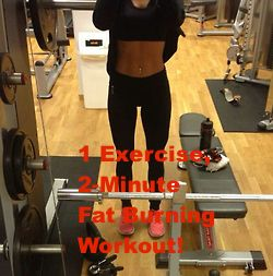 2 minute fat burning workout