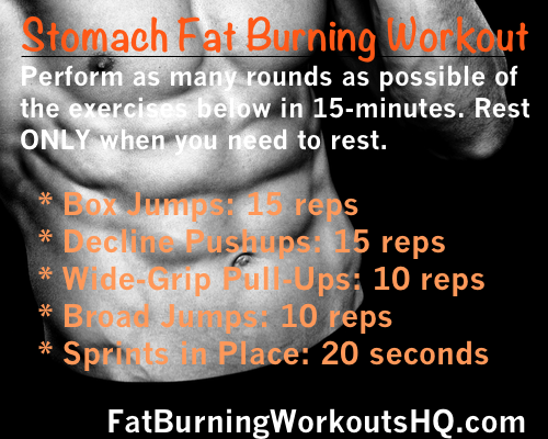 Workout to burn belly fat